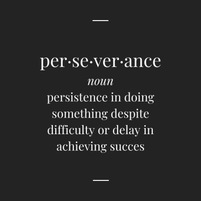 Copy of perseverance